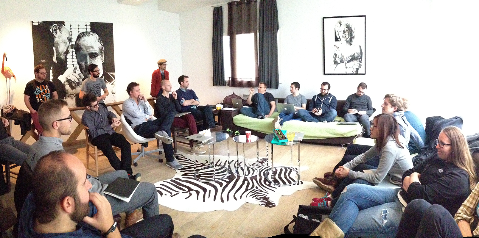 Designer meetup in Paris